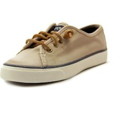 Sperry Top-Sider Women's Seacoast Fashion Canvas Sneaker Brown