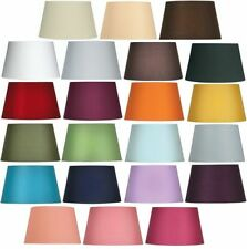 Oaks Lighting Cotton Coolie Lamp Shade 10 inch S901/10 Available in 25 Colours