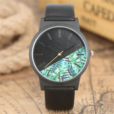 Casual Analog Leather Band Men Boy Army Quartz Wrist Watch Pin Buckle Gift
