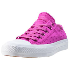 Converse Ct Allstar Ii Ox Shield Womens Violet Canvas Casual Trainers Lace-up