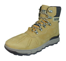 Caterpillar Stiction Hiker Ice hombres Cuero impermeable Botas - Honey