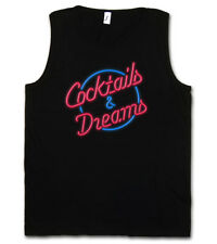 COCKTAILS & DREAMS COCKTAIL MOVIE LOGO TANK TOP Tom Film 80s Cruise Kult Symbol