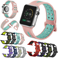 for Apple Watch 38/42MM iWatch Premium soft silicone band Watch Strap XMAS GIFT