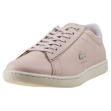 Lacoste Carnaby Evo 417 Femmes Baskets Light Pink Neuf Chaussure