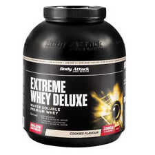 Body Attack Extreme Whey Deluxe 22,13€/kg 2,3 kg Dose Eiweiß Protein 2300g