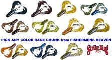 Strike King Rage Chunk Soft Plastic Jig Trailer Any Color Craw RGCHK Lure