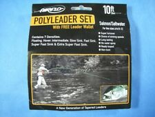 Airflo NEW Fishing Polyleader's 5' Set of 7 Densities Salmon or Trout Models