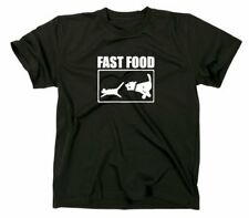 Fast food CAMISETA DIVERTIDA,T-Shirt,Fun,6x COLORES,perro,Gato Perro Cat CAZA