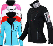 Geographical Norway Giacca Softshell Donna Pioggia TRANSIZIONE Outdoor Sport