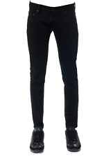 Jeans Dsquared2 Jeans % Clement Made In Italy Uomo Nero S74LB0280-S3056-
