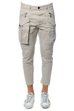 Pantaloni Dsquared2 Trouser % Cargo Made In Italy Uomo Beige S71KB0032-S4813-