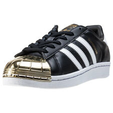 adidas Superstar Metal Toe Donna Formatori Black Gold nuovo Scarpe