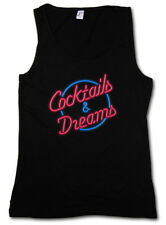 COCKTAILS & DREAMS COCKTAIL MOVIE LOGO DAMEN TANK TOP Tom Film 80s Cruise Symbol