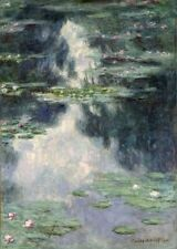 Pond With Water Lilies Claude Monet 1907 Art Photo /Poster Reproduction Gift Ide