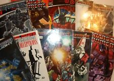 The Transformers IDW Comics Comic Books Spotlight Focus G1 Movie [Choice]