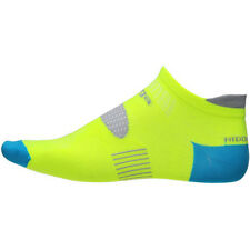 Balega Hidden Dry 2 Second Skin No Show Running Socks - Neon Yellow