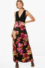 Boohoo Petite Phillipa Floral Print Maxi Dress para Mujer
