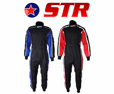 STR Evo Pro Carreras Funda Doble Capa SFI APPROVED 3.2a/5 and Proban Tratado