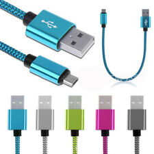1m 2m 3m Strong Braided Micro USB/Type C/IOS Data Snyc Charger Charging Cable