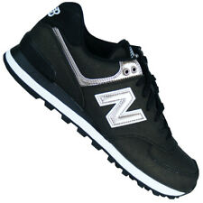 New Balance Wl 574 SFH Retro LIFESTYLE Zapatos mujer black with champán metálico