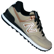 New Balance Wl 574 SFF GOLD Marrón Retro LIFESTYLE Zapatos Mujer Cobre Metal