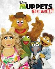 Muppets - Mini-Poster Most Wanted - Cast - TV Film Poster Druck Poster