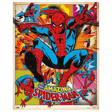 Spiderman - The Amazing Spiderman - Comic - Mini Poster Plakat - Grösse 40x50 cm