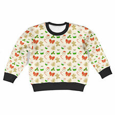 Christmas Cookies Kids Sweatshirt Unisex All-Over-Print