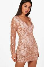 Boohoo Boutique Laura Embellished Bodycon Dress para Mujer
