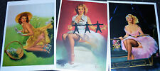 1950's Pin-Up Postcards by Ed Runci
