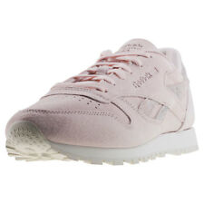 Reebok Classic Leather Shimmer Mujeres Zapatillas Light Pink nuevo Zapatos