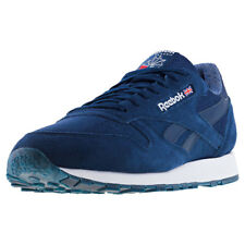Reebok Classic Leather Nm Hommes Baskets Navy White Neuf Chaussure