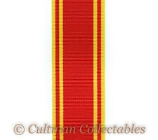 286. Fire Brigade Long Service Medal Ribbon – Full Size