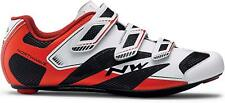 Scarpe NORTHWAVE CORSA SONIC 2 White/Black/Red/ROAD SHOES NORTHWAVE SONIC 2