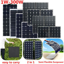20 - 300 Watt Class-A Sunpower Semi Flexible Placa Panel Solar Panel Solarpanel