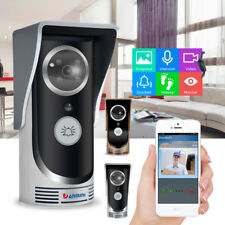 LOT Wireless WiFi Remote Video HD Camera Smart Door Phone Doorbell Home Security