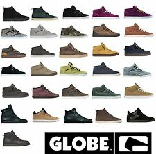 Globe Chaussures basses Chaussures cheville chaussures d'hiver homme cuir doublé