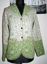 H64 HIMALAYA Cardigan commercio equo solidale 100% GOTS CERTIFIED