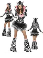 Costume Carnevale Donna Animale Zebra Tutu' Smiffys 22798 PS 18350