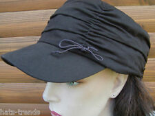 Berretto con visiera Donna Cool und Casual Marrone CAPPELLO