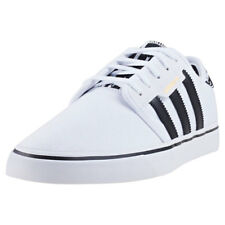 adidas Seeley Hommes Baskets Black White Nouvelles Chaussures