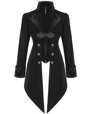 Devil Fashion VESTE femmes manteau velours noir gothique steampunk aristocrate