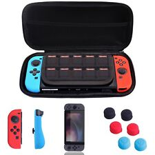 Nintendo Switch Premium Carrying Case w/Tempered Glass Screen Protector