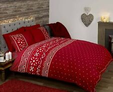 Rapport  NORDIC  Duvet Cover Sets  Single  Double  King  Red