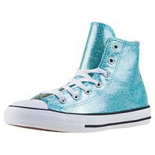 Converse Chuck Taylor All Star Hi Junior Zapatillas In Aqua White Zapatos Nuevos
