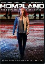 Homeland:season 6 - DVD Region 1 Free Shipping!