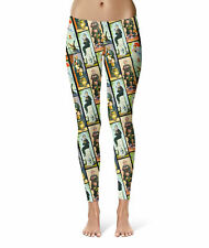 Haunted Mansion Stretch Paintings Sport Leggings XS-5XL Full Length High Waist
