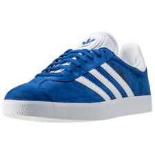 adidas Gazelle Unisex Blue Suede & Synthetic Casual Trainers Lace-up New Style