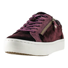 Tommy Hilfiger Jupiter 2z Velvet Womens Brown Textile Casual Trainers Lace-up