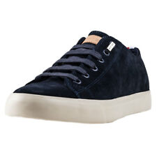 Tommy Hilfiger Walter 2b Mens Navy Suede Casual Trainers Lace-up New Style